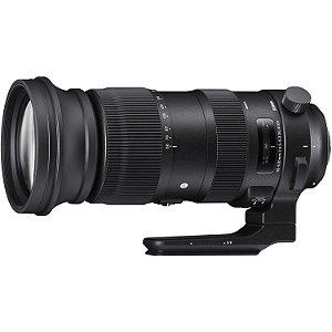 Lente Sigma 60-600mm f/4.5-6.3 DG OS HSM Sports para câmeras Canon EOS