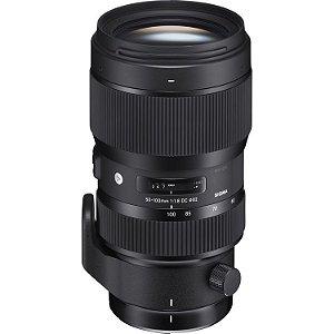 Lente Sigma 50-100mm f/1.8 DC HSM Art para câmeras Canon EOS
