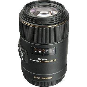 Lente Sigma 105mm f/2.8 EX DG OS HSM Macro para câmeras Canon EOS