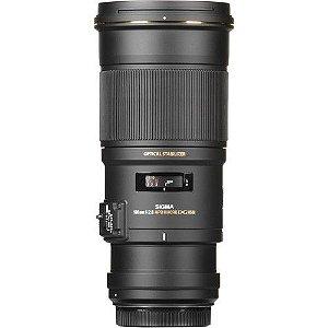 Lente Sigma 180mm f/2.8 APO Macro EX DG OS HSM para câmeras Nikon