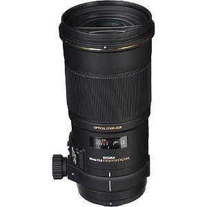 Lente Sigma 180mm f/2.8 APO Macro EX DG OS HSM para câmeras Canon EOS