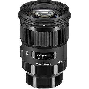 Lente Sigma 50mm f/1.4 DG HSM Art para câmeras Sony