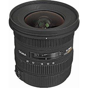 Lente Sigma 10-20mm f/3.5 EX DC HSM para câmeras Canon EOS EF-S