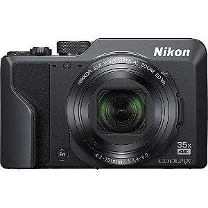 Câmera Nikon COOLPIX A1000 zoom ótico de 35x NIKKOR, Filmagens 4K, BSI CMOS Sensor, Wi-Fi