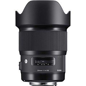 Lente Sigma 20mm f/1.4 DG HSM Art para câmeras Nikon