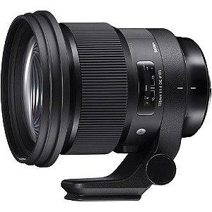 Lente Sigma 105mm f/1.4 DG HSM Art para câmeras Sony E