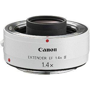 Canon Extender EF 1.4X III Ampliação de 1.4X para lentes da série L com distancia focal mais de 135 milímetros