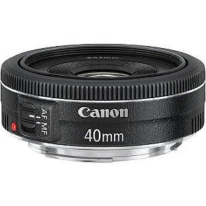 Lente Canon EF 40mm f/2.8 STM + Parasol Canon ES-52