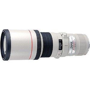 Lente Canon EF 400mm f/5.6L USM + Canon Extender EF 2X III Ampliação de 2X