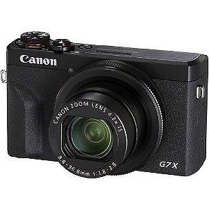 Câmera Canon PowerShot G7 X Mark III