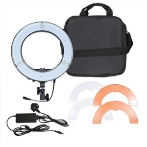 Iluminador LED Circular Greika Ring Light RL-18