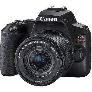 Câmera Canon EOS Rebel SL3 Kit com Lente Canon EF-S 18-55mm f/4-5.6 IS STM