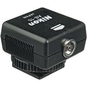 Sapata Nikon AS-15 Sync Terminal Adapter