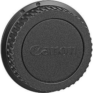 Tampa traseira original Canon LENS DUST CAP E