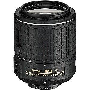 Lente Nikon AF-S DX NIKKOR 55-200mm f/4-5.6G ED VR II