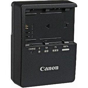 Carregador Canon LC-E6 para Bateria LP-E6 para câmeras Canon EOS 60D / 70D / 5D Mark II / 7D