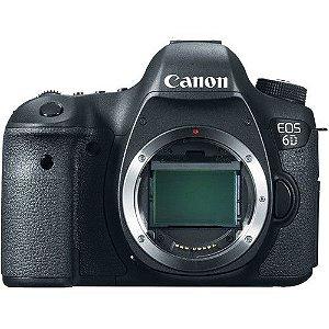 Câmera Canon EOS 6D Apenas o Corpo