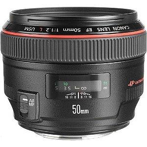 Lente Canon EF 50mm f/1.2L USM