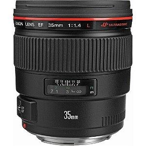 Lente Canon EF 35mm f/1.4L USM
