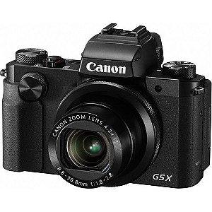Câmera Canon PowerShot G5 X (Preta) 20.2 MegaPixels, Zoom Ótico de 4.2x, Vídeo Full HD