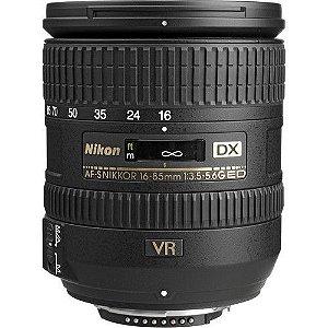 Lente Nikon AF-S DX NIKKOR 16-85mm f/3.5-5.6G ED VR