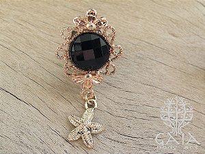Alargador Starfish Ouro Rosa