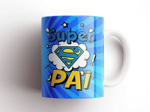 Caneca Super Pai Especial Dia Dos Pais