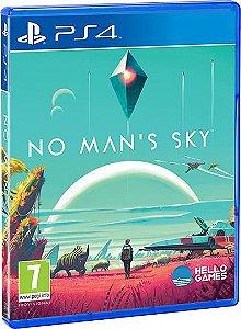 NO MAN'S SKY PS4  MÍDIA FÍSICA