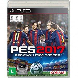 PES 17 Pro Evolution Soccer 2017 MÍDIA FÍSICA