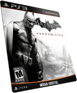 Batman Arkham City PS3 PSN MÍDIA DIGITAL