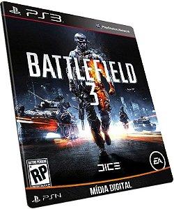 Battlefield 3 - BF3 para PS3 / PSN em MÍDIA DIGITAL