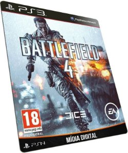 Battlefield 4 - BF4 PS3 / PSN - MÍDIA DIGITAL