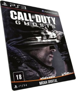 Call of Duty Ghosts COD Ghost PS3 PSN MÍDIA DIGITAL