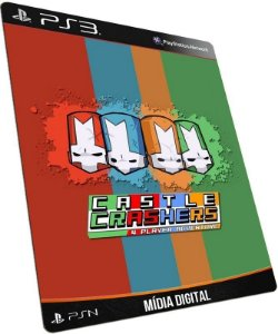 Castle Crashers + Brinde PS3 PSN MÍDIA DIGITAL