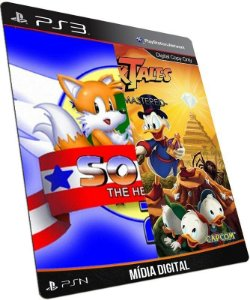DuckTales + Sonic 2 PS3 PSN MÍDIA DIGITAL