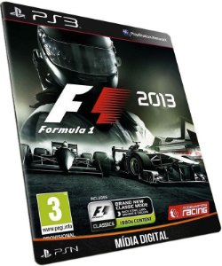 F1 2013 PS3 MÍDIA DIGITAL