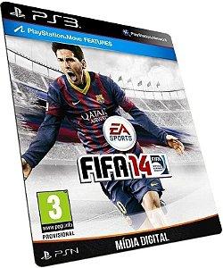 Fifa 14 Inglês PS3 PSN MÍDIA DIGITAL