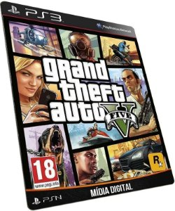 Grand Theft Auto V GTA 5 PS3 PSN MÍDIA DIGITAL
