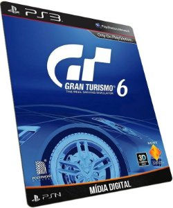 Gran Turismo 6 PS3 PSN MÍDIA DIGITAL