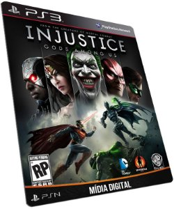 Injustice Gods Among Us PS3 / PSN - MÍDIA DIGITAL