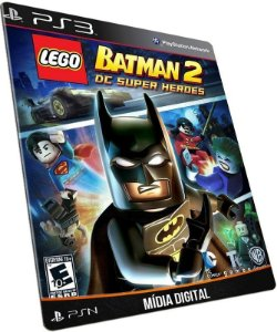 LEGO Batman 2 PS3 PSN MÍDIA DIGITAL