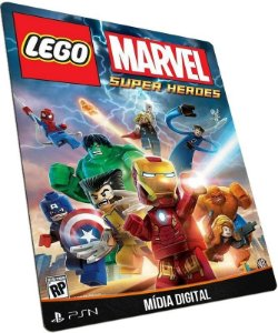 LEGO Marvel Super Heroes PS3 PSN MÍDIA DIGITAL