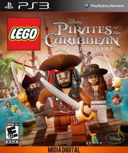 LEGO Pirates of the Caribbeand PS3 MÍDIA DIGITAL