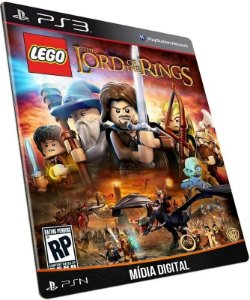 LEGO The lord of the ring PS3 PSN MÍDIA DIGITAL