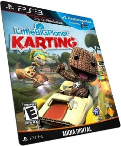 Little Big Planet Karting PS3 PSN MÍDIA DIGITAL