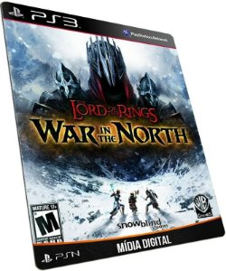 Lord of the Rings War in the North PS3 PSN MÍDIA DIGITAL
