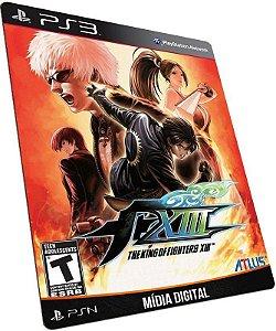 The King of Fighters XIII 13 - PS3 / PSN - MÍDIA DIGITAL