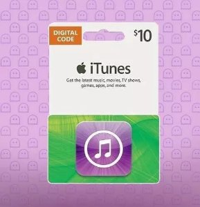 Itunes Gift Card $10 Dólares Usa