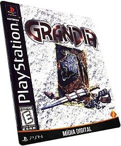 Grandia PS3 PSN MÍDIA DIGITAL