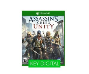 Assassins Creed Unity Xbox One - Chave Digital